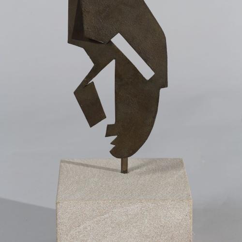 Juli González - Petita màscara airejada - Cap a 1932-1933