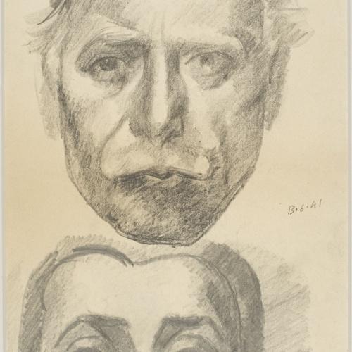 Juli González - Auto-portrait et Marie-Thérèse (Self-portrait and Marie-Thérèse) - 1941