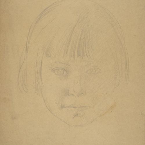 Juli González - Roberta nena (Roberta enfant) - Cap a 1920-1922