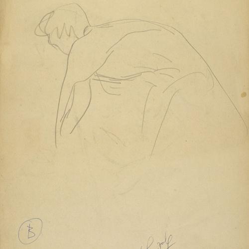 Juli González - La mare de l'artista (La mère de l'artiste) - Cap a 1925-1926 [1]