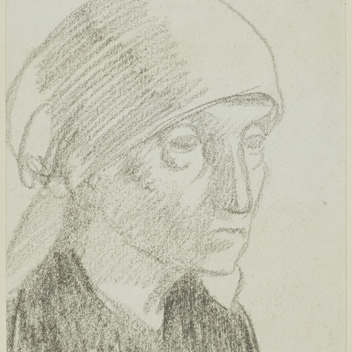 Juli González - Mère de l'artiste en paysanne nº 7 (The Mother of the Artist as Peasant Woman No 7) - Circa 1926-1927