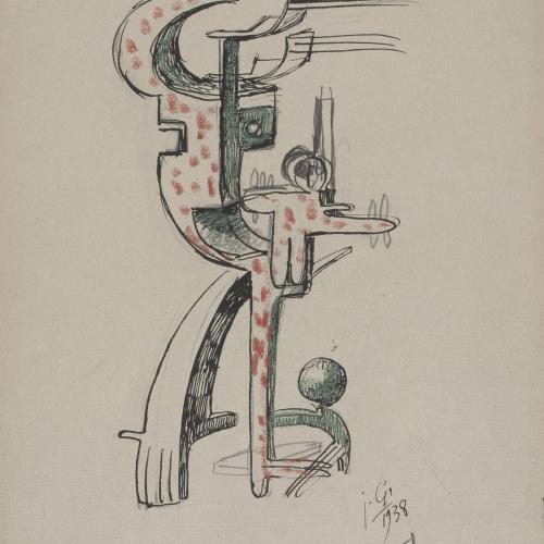 Juli González - Agressivitat (Agressivité) - 1938