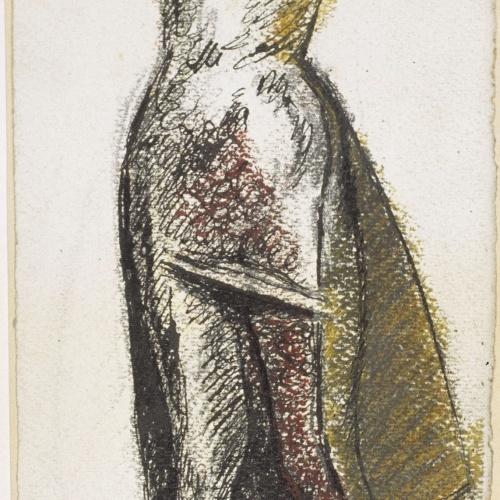 Juli González - Dona sense cap (Femme sans tête) (anvers) / Estudi de cames (revers) - 1938