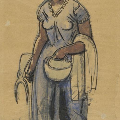 Juli González - Camperola (Paysanne) - 1929
