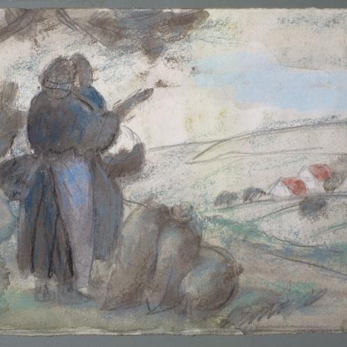 Juli González - Els tres sacs de pomes (Les trois sacs de pommes) - 1923