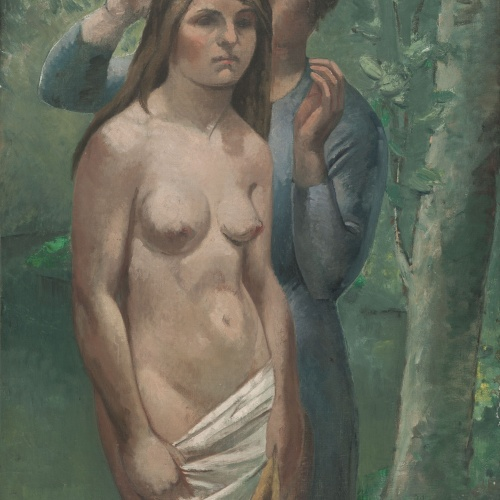 Juli González - Nude and Female Peasant - Circa 1920-1923