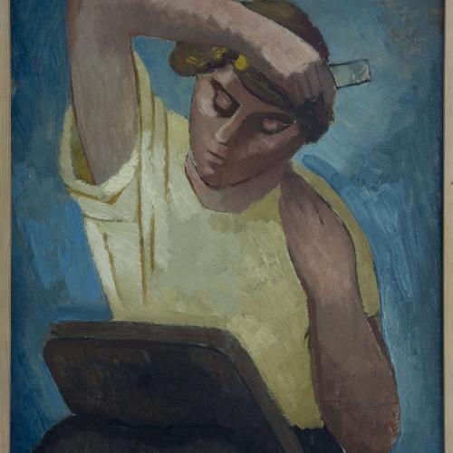 Juli González - Dona pentinant-se - Cap a 1934-1940