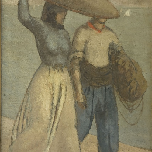 Juli González - Pescadors catalans - Cap a 1910-1914