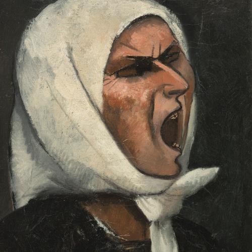 Juli González - Montserrat cridant, núm. 1 - Cap a 1936-1939