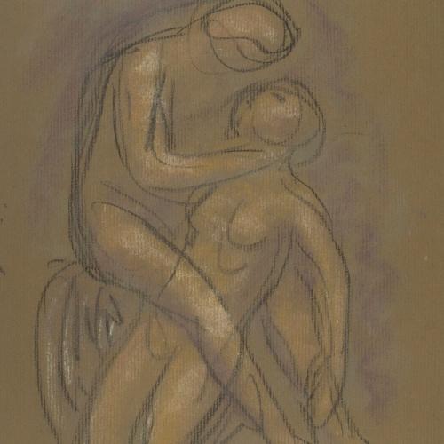 Juli González - Dos nus (Deux nus) - Cap a 1914