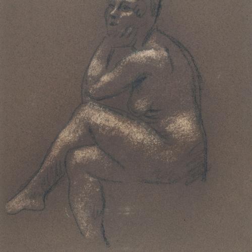 Juli González - Simone asseguda (Simone assisse) - Cap a 1914-1917