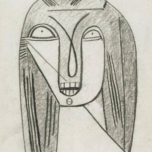 Juli González - Visage étonné (Cara embadalida) - 1942
