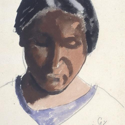 Juli González - Marie-Thérèse amb el cap inclinat (Marie-Thérèse tête penchée) - 1935