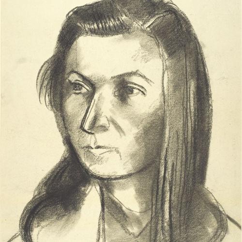 Juli González - Marie-Thérèse amb la cabellera estesa (Marie-Thérèse aux cheveux épars) - Cap a 1940-1941