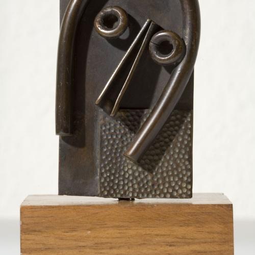 Juli González - Petita màscara amb grans ulls - 1933-1934