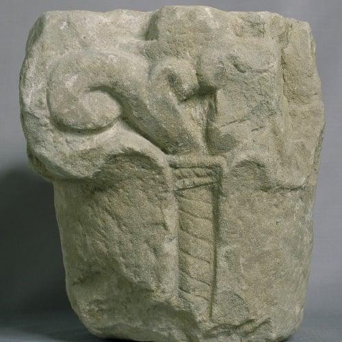 Anònim - Capitell de Castellterçol - Primer terç del segle XI
