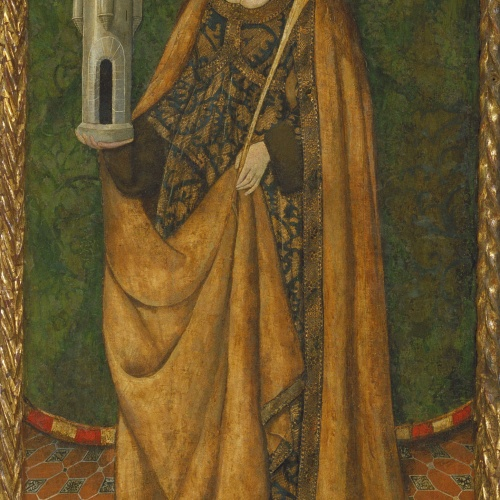 Anònim. Aragó - Santa Bàrbara - Tercer quart del segle XV