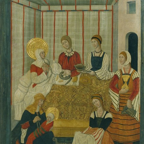 Pere Garcia de Benavarri - Naixement de la Mare de Déu - Cap a 1475