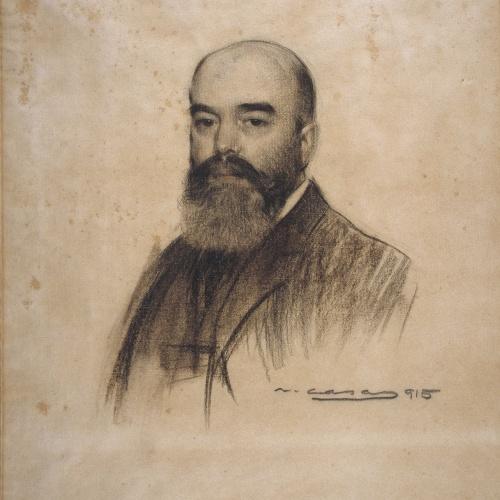 Ramon Casas - Retrato de Joan Garriga - 1915