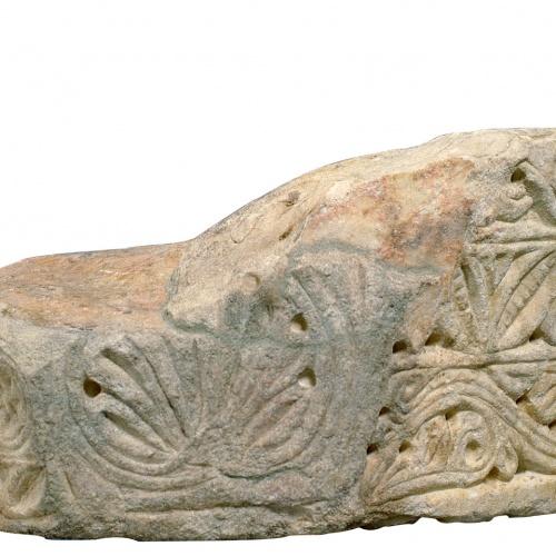Anònim - Fragmento de imposta - Primera mitad del siglo XII