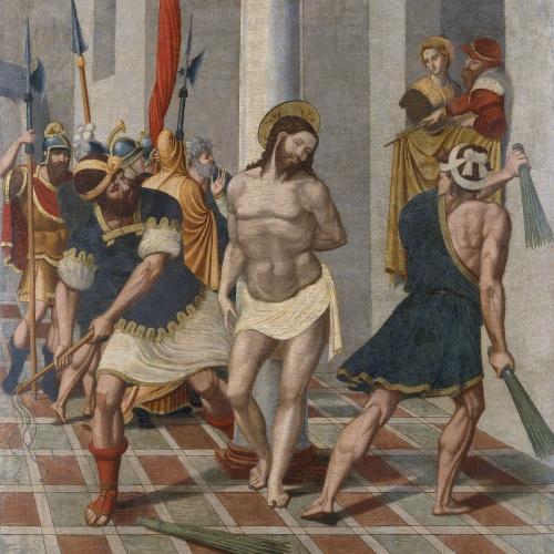 Pere Serafí - Flagel·lació de Crist - 1543-1546