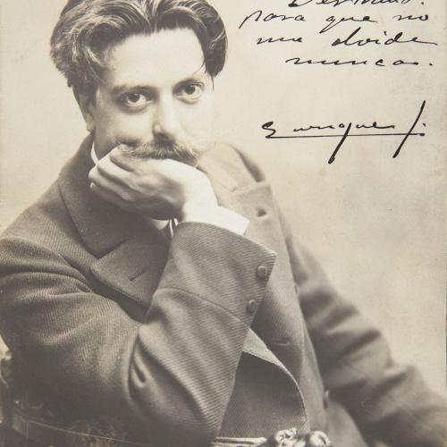 Napoleón. Establecimiento de daguerrotipo y fotografía. Barcelona - Retrat d'Enrique, amic d'Eusebi Bertrand - No datat