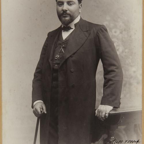 Pau Audouard - Portrait of Domènec Mas, teacher of Eusebi Bertrand - Undated