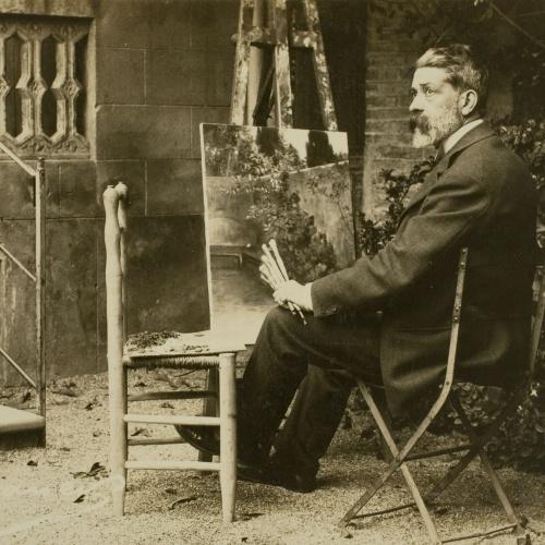 Francesc Serra Dimas - Retrat de Lluís Graner - 1904