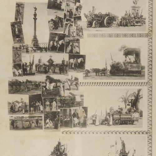 Pau Audouard - Cabalgata en honor á Cristobal Colón. Octubre de 1888 (Cavalcade in honour of Christopher Columbus. October 1888) - October 1892