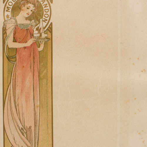 Alphonse-Marie Mucha - Menu - Circa 1897