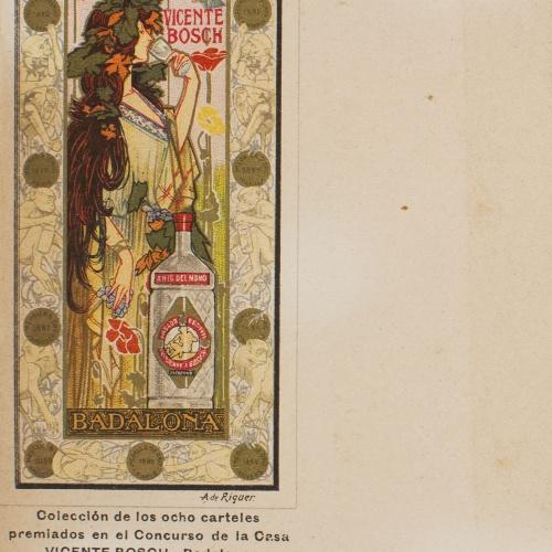 Alexandre de Riquer - Anís del Mono - 1898