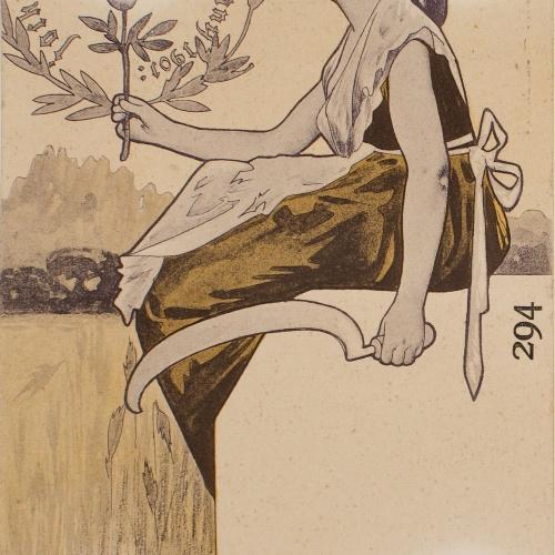 Alexandre de Riquer - Jochs Florals de Barcelona any 1901 - 1901