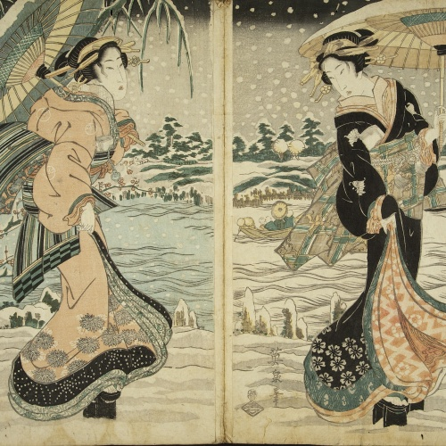 Utagawa Kunisada (Toyokuni III) - Ukiyo-e (album with fifty-two pictures) - End of the 18th century – mid-19th century [6]