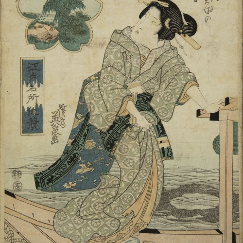 Utagawa Kunisada (Toyokuni III) - Ukiyo-e (album with fifty-two pictures) - End of the 18th century – mid-19th century [9]
