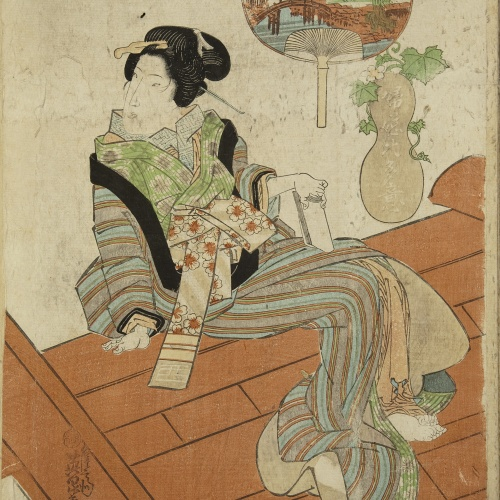 Utagawa Kunisada (Toyokuni III) - Ukiyo-e (album with fifty-two pictures) - End of the 18th century – mid-19th century [13]