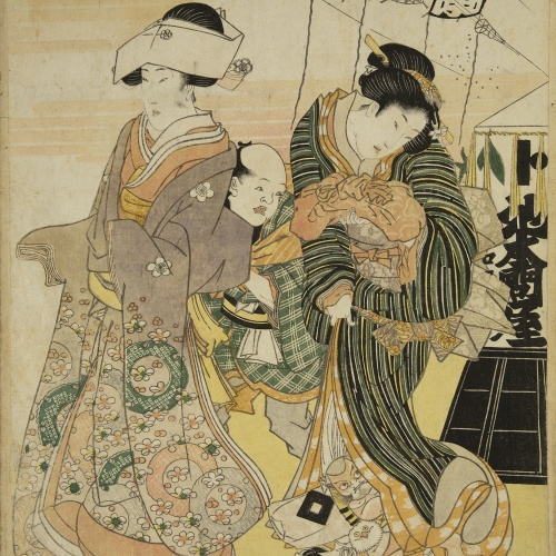 Utagawa Kunisada (Toyokuni III) - Ukiyo-e (album with fifty-two pictures) - End of the 18th century – mid-19th century [18]