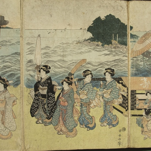 Utagawa Kunisada (Toyokuni III) - Ukiyo-e (album with fifty-two pictures) - End of the 18th century – mid-19th century [20]
