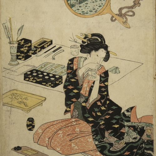 Utagawa Kunisada (Toyokuni III) - Ukiyo-e (album with fifty-two pictures) - End of the 18th century – mid-19th century [21]