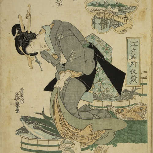 Utagawa Kunisada (Toyokuni III) - Ukiyo-e (album with fifty-two pictures) - End of the 18th century – mid-19th century [27]