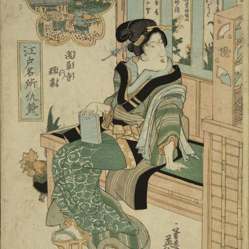 Utagawa Kunisada (Toyokuni III) - Ukiyo-e (album with fifty-two pictures) - End of the 18th century – mid-19th century [28]