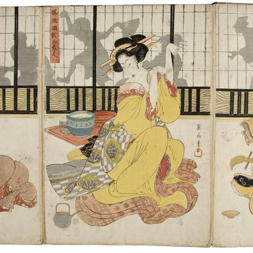 Utagawa Kunisada (Toyokuni III) - Ukiyo-e (album with fifty-two pictures) - End of the 18th century – mid-19th century [29]