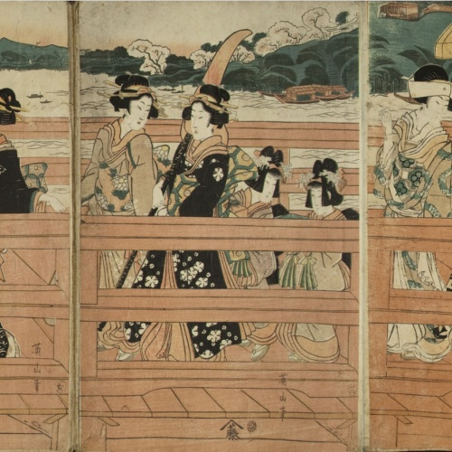 Utagawa Kunisada (Toyokuni III) - Ukiyo-e (album with fifty-two pictures) - End of the 18th century – mid-19th century [30]