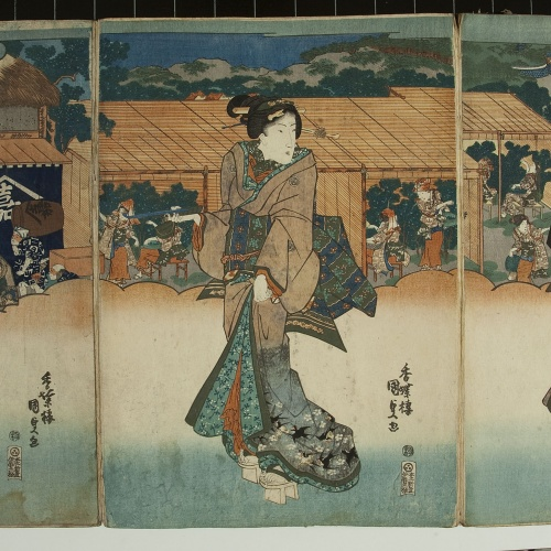 Utagawa Kunisada (Toyokuni III) - Ukiyo-e (album with fifty-two pictures) - End of the 18th century – mid-19th century [31]