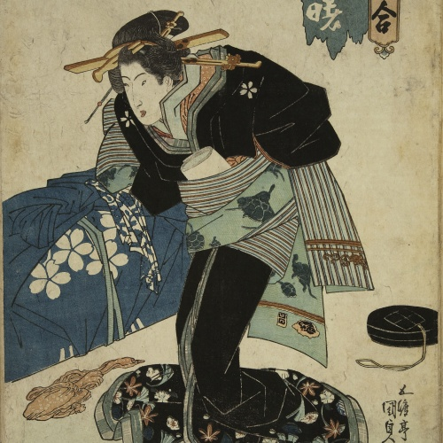 Utagawa Kunisada (Toyokuni III) - Ukiyo-e (album with fifty-two pictures) - End of the 18th century – mid-19th century [32]