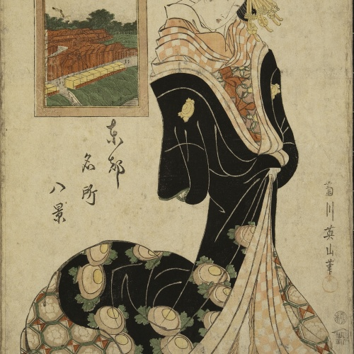 Utagawa Kunisada (Toyokuni III) - Ukiyo-e (album with fifty-two pictures) - End of the 18th century – mid-19th century [37]