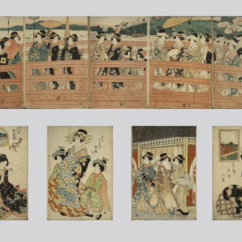 Utagawa Kunisada (Toyokuni III) - Ukiyo-e (album with fifty-two pictures) - End of the 18th century – mid-19th century