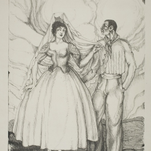 Ismael Smith - Maja española - 1919