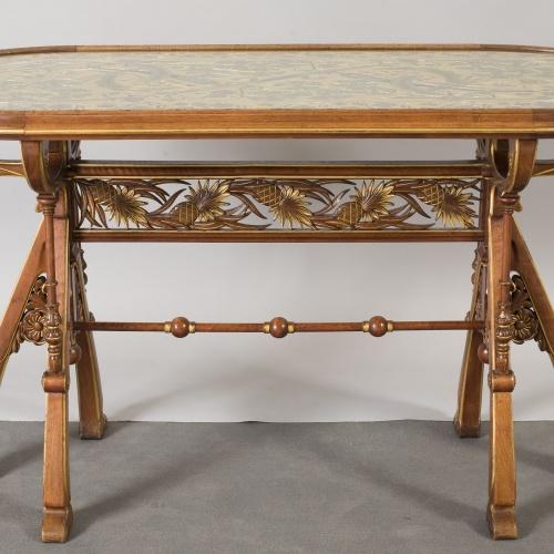 Frederic Vidal - Oval table - Circa 1900