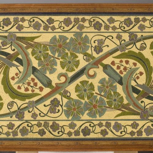 Frederic Vidal - Oval table - Circa 1900 [1]