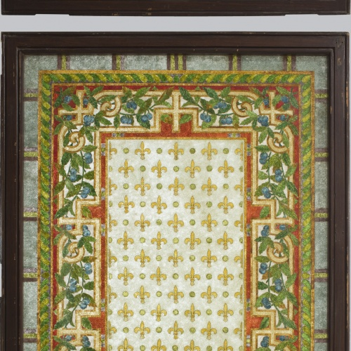 Frederic Vidal - Large window with transom  - Circa 1900